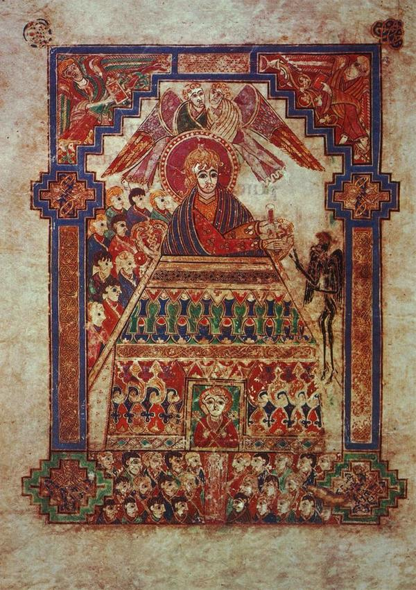 Book of Kells (Madonna) 8th cent