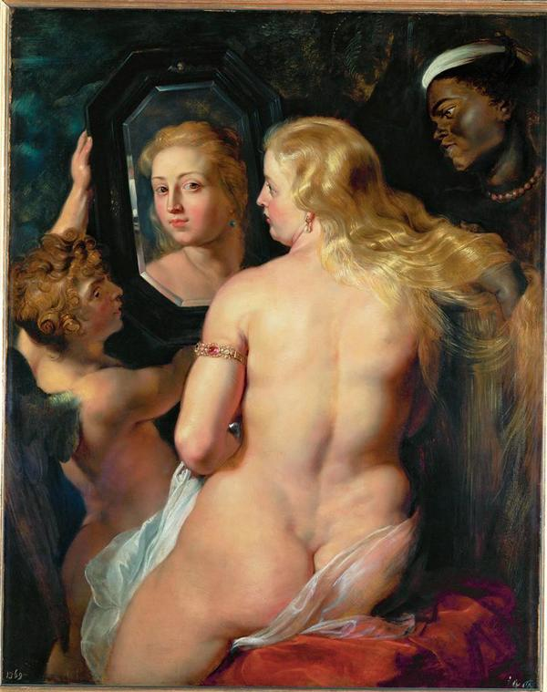 Peter Paul Rubens, Venus Before A Mirror 1614-15
