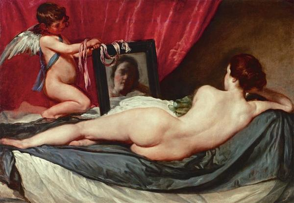 The Toilet of Venus (The Rokeby Venus) 	 Diego Velázquez