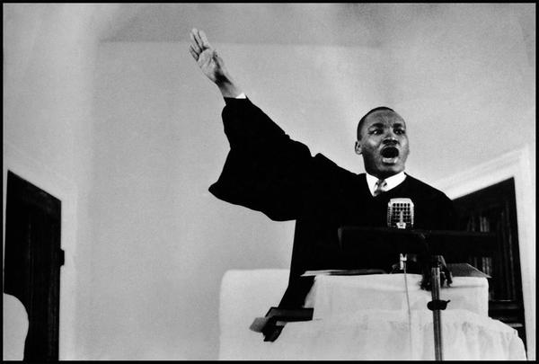 Martin Luther King, Jr., speaks out against the war